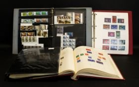 Stamp Interest - Four Stamp Albums compr
