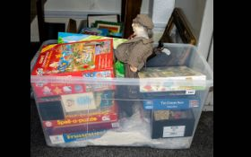 Mixed Lot Of Childrens Games And Puzzles