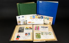 Stamp Interest - Three stamp albums with