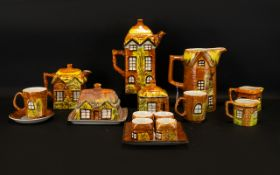 Collection of Price Cottage Ware. Large