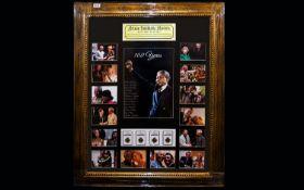 Nelson Mandela Interest Framed photograp