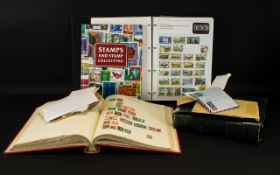 Box Of Mixed Stamp Albums to include an