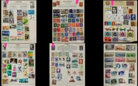 Very full old Strand stamp album. Mostly
