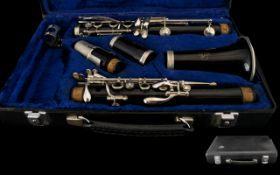 Buffet Crampon Clarinet Serial Number 276164 Complete with velvet lined fitted case by Boosey