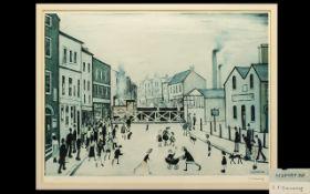 Laurence Stephen Lowry (1887-1976) The Level Crossing, Burton On Trent,