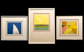 A Collection Of Three Limited Edition Prints Each housed in contemporary frames, each certificated