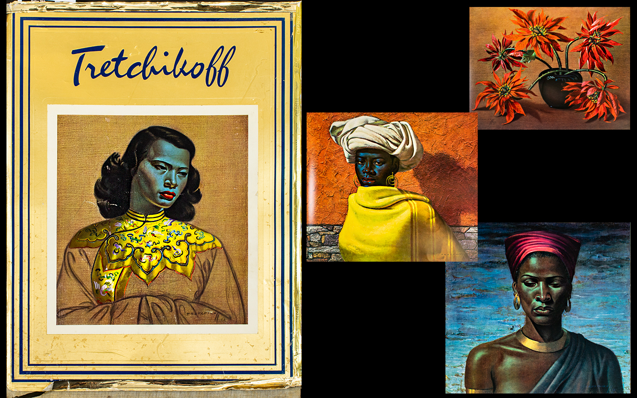 Lot 1370 - Tretchikoff By Howard Timmins, First Edi