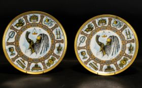 Goebel Traditions Plates (2) Please see