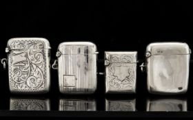A Good Collection of Solid Silver Antiqu