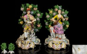 A Pair Of Late 19th Century Chelsea Styl
