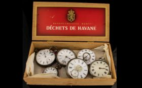 A Collection Of Silver Pocket Watches Fi