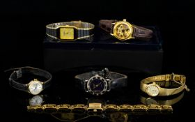 A Collection Of Vintage Fashion Watches