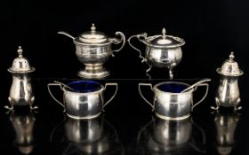 Antique Period - Collection of Small Silver Items,
