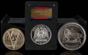 London Mint Extra Large Stunning Duke of Wellington Medal.