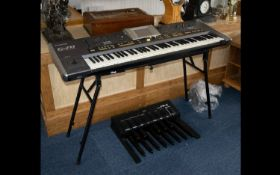Roland G-70 Music Workstation & Corresponding Parameter Reference Manual. Includes Manual, Cables,
