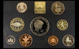 Royal Mint 2014 United Kingdom Annual Coin Set.