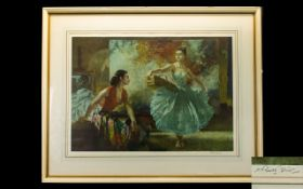 Sir William Russell Flint (Scottish, 1880-1969), 'Eve and Yasmin and an Unfinished Picture' , signed