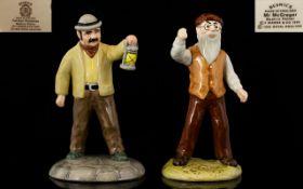 "Royal Albert Beatrix Potter Figures Two (2) in Total. 1. 'Mr McGregor' circa 1995. 5.25"" - 13."