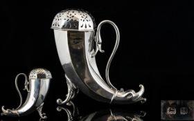Edward VII Period Fine Quality Silver Sugar Shifter.