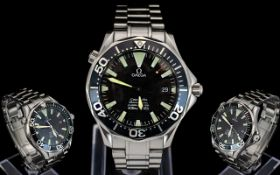 Omega - Seamaster Professional Chronometer Automatic Stainless Steel Gents Wrist Watch.
