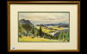 William Alister Macdonald (1860 -1956) Untitled Watercolour On Paper Depicting landscape with