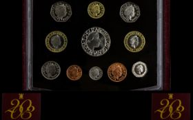 Royal Mint United Kingdom 2003 Proof Coin Set ( 11 ) Proof Struck Coins,