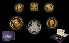 Royal Mint - Ltd and Numbered Edition United Kingdom Gold Proof Sovereign - Pistrucci Centenary