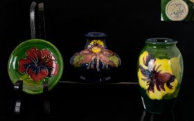 A Small Collection of Moorcroft Tubeline