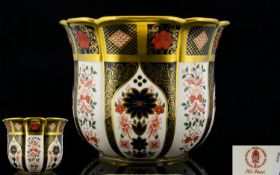 Royal Crown Derby Old Imari Pattern Soli