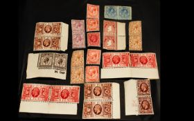 A Small Mixed Lot Of Great Britain Stamp