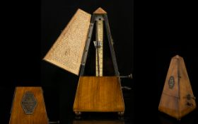 Antique Maelzel Metronome Of typical pyr