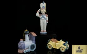 A Small Collection of Retired Lladro Por