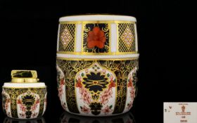 Royal Crown Derby Old Imari Pattern Tabl