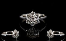 Boodles And Dunthorpe 18ct White Gold Di