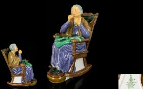 Royal Doulton Hand Painted Figure ' Stit