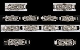 Art Deco Period Superb Quality Platinum