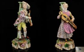 German - Late 19th Century Pair of Hand