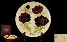 Moorcroft Limited and Numbered Edition T