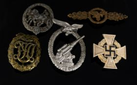 Grouping of Third Reich Awards - consist