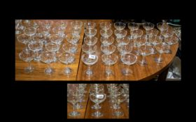 Babysham Interest 44 Glasses In Total. All In Perfect Condition. Please See Accompanying Image.