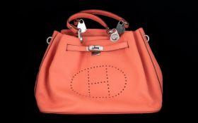 Ladies Leather Fashion Handbag - Please See Accompanying Image