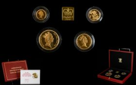 The Royal Mint ltd and Numbered Edition 1991 United Kingdom Gold Proof Sovereign ( 4 ) Coin
