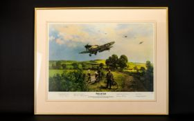 Aeronautic Interest Limited Edition Artist Signed Framed Print 'Piece Of Cake' By Michael Turner No.