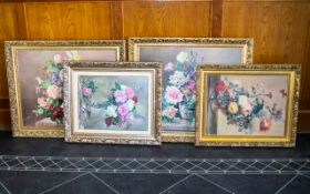 A Collection Of Floral Still Life Prints Decorative Prints,