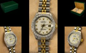 Rolex - Ladies Oyster Perpetual Date-jus