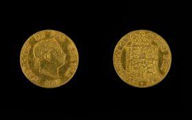 1817 George III Half Sovereign Please se