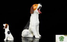 Royal Doulton 'Yawning Beagle' Figure Ve