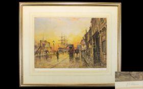 """J.L. Chapman Artist Signed Print """"Old Li"""