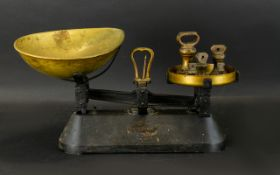 Traditional Kitchen Scales 'The Viking'