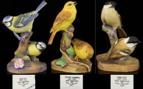 A Collection Of Royal Worcester Bird Fig